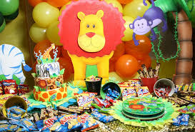 jungle themed birthday party jungle theme party ideas