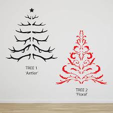 christmas tree sticker wall christmas lights decoration christmas tree wall sticker