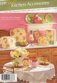 free us ship simplicity sewing pattern 4341 home decor kitchen