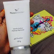 Makeup Remover Shaklee singkir kulit mati dengan makeup remover shaklee exfoliate dead