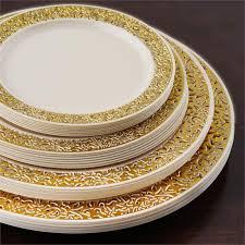wedding plates for sale 6 25 dessert plastic plates trim party wedding disposable