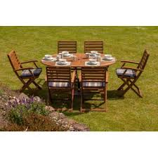6 seater outdoor dining table 6 seater garden dining sets wayfair co uk