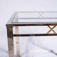 coffee table wonderful picture 1729 wonderful glass and chrome