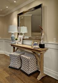 Narrow Entry Table Houzz The Console Table Of Course Custom Made