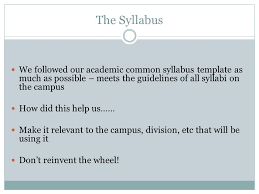 let u0027s talk about the advising syllabus ppt download