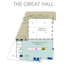 Concert Hall Floor Plan Floor Plans Ernest N Morial Convention Center