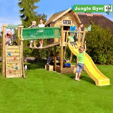 Costco Play Structure Jungle Gym Crazy Playhouse Xl Bridge Module 3 Years Costco Uk
