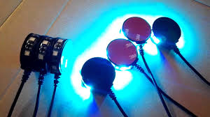 rgb led puck lights jxfclass waterproof rgb color motorcycle led wheel puck light youtube