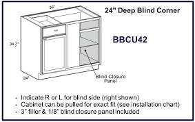 startling blind corner base cabinet fresh decoration bl 48 kitchen