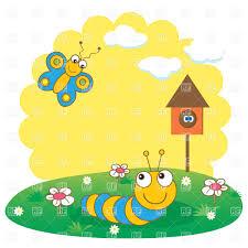 butterfly caterpillar clipart 57