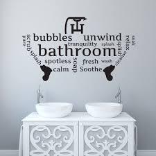 bathroom wall stickers dzqxh com