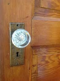 Interior Glass Door Knobs The Vintage Door Knob Adds Interior Character Daley Decor With