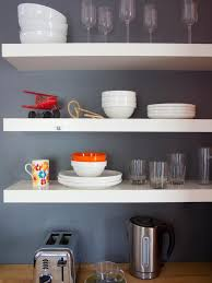 how to organize open kitchen cabinets images of beautifully organized open kitchen shelving diy
