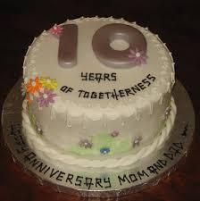 tenth anniversary ideas 10th wedding anniversary ideas 10th anniversary cake