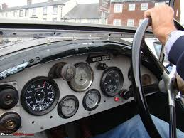 car dashboard dashboard pictures of vintage and classic cars page 3 team bhp