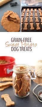 recipe for dog treats grain free sweet potato dog treats the healthy maven