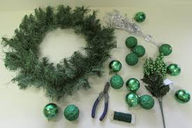 it s easy to decorate an artificial wreath fred