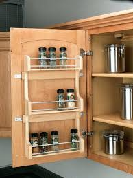 Kitchen Cabinet Door Spice Rack The Door Spice Rack The Door Spice Rack Inspirational