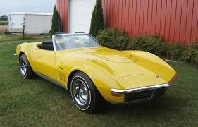 1972 stingray corvette value 1972 corvette lt1 stingray convertible