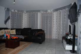 Gardinen Esszimmer Erker Wohnzimmer Gardine In Klassischem Stil In Silber Grau Und Weiß