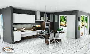 cuisine avec coin repas meuble ilot central cuisine frais beau coin repas cuisine moderne et
