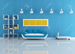 blue living room myhousespot com