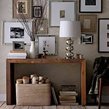 West Elm Console Table by Contemporary Concepts