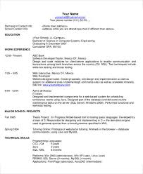 technical resume 35 resume templates free premium templates