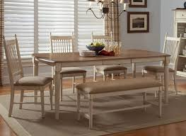 sweet dining room table with bench dining room table with bench
