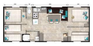 chambre mobile location mobil home 8 personnes 4 chambres 36 m2 vacances