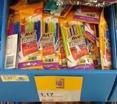 target sharpie pack black friday unadvertised target deals free supplies bic soleil 0 24
