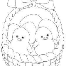 easter basket with eggs coloring page easter basket full of easter eggs coloring page batch coloring