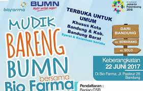 Bio Di Bandung free homecoming with bio farma official website of west java province