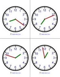 telling time several printable clock and clock worksheets for