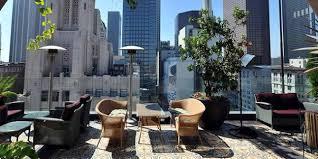 la u0027s hottest hotel rooftop restaurants and bars zagat