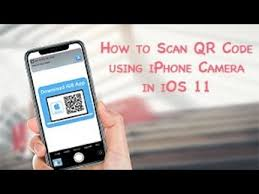 Iphone 4 Scan Qr Code by Scan Qr Code Using Iphone Camera In Ios 11 Youtube