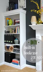 Bookcases Com Diy Tutorial How To Make A Laminate Bookcase Look Like A Custom
