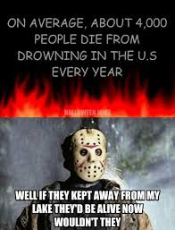 Jason Voorhees Meme - jason voorhees my horror world pinterest horror movie and