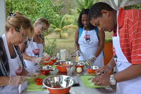 de cuisine antillaise ambiance de l atelier culinaire du 28 février au carbet ils l