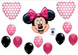 minnie mouse birthday pink minnie mouse birthday party balloons decorations