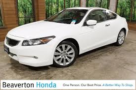 honda accord coupe 2009 pre owned 2009 honda accord ex l 2d coupe in beaverton 46399a