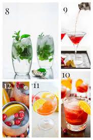 15 festive winter cocktails healthy seasonal recipes