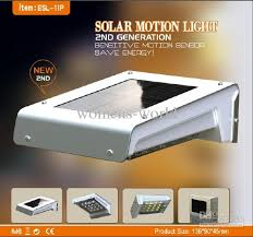 Solar Power Led Outdoor Lights New Product Waterproof 16led Solar Motion Light With Recharged Aaa