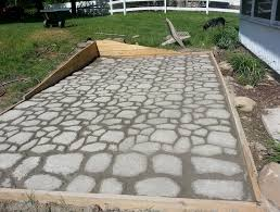 Stones For Patio Concrete Patio Stones For Sale Home Design Ideas