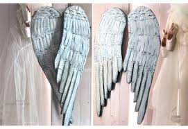 Angel Wing Wall Decor Wooden Angel Wings Wall Decor Home Decoration Ideas Lovely