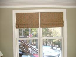 Flat Roman Shades - custom window treatments by why sew serious roman shades