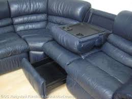 navy blue reclining sofa teachfamilies org