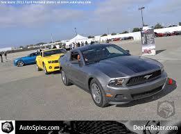 Black Mustang Grey Stripes 2011 Sterling Gray V6 W Black Ott Stripes The Mustang Source