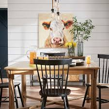 Modern Farmhouse Dining Room Fall Decor Catalog At The Home Depot