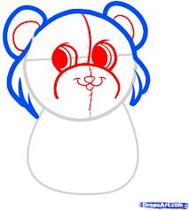 how to draw be my valentine be my valentine bear step by step